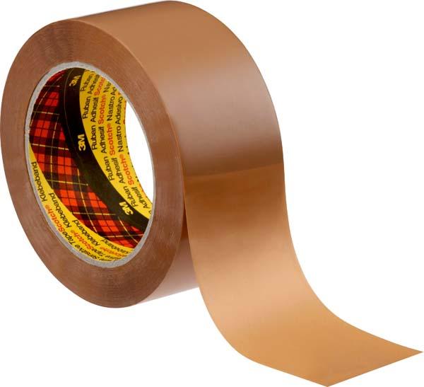 Scotch® Verpackungsklebeband 3705, Transparent, 50 mm Breite