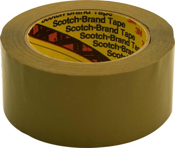 Scotch® Verpackungsklebeband 375 E, Braun, 50 mm x 990 m, 0,075 mm