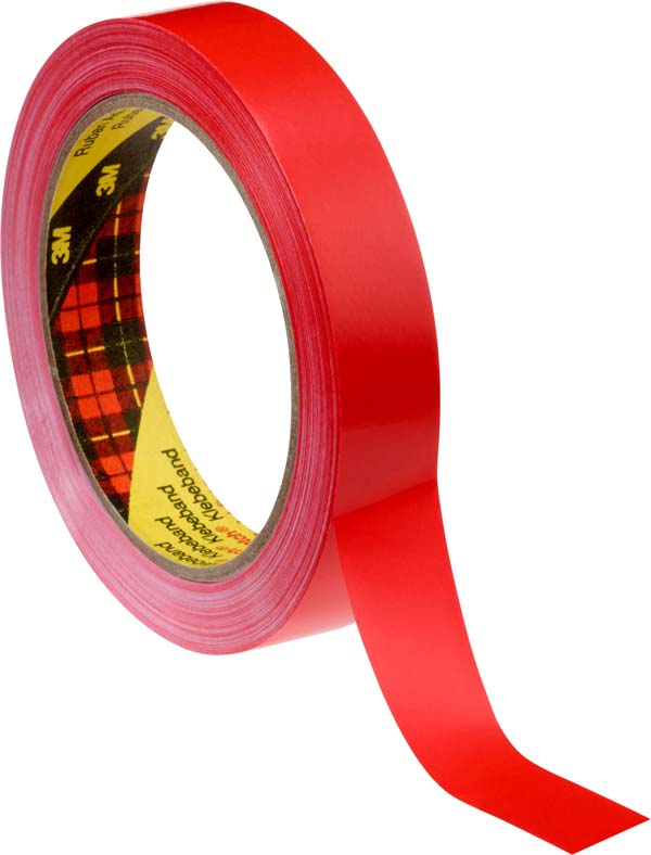 Scotch® Verpackungsklebeband 6893, Rot, Rolle a 66m