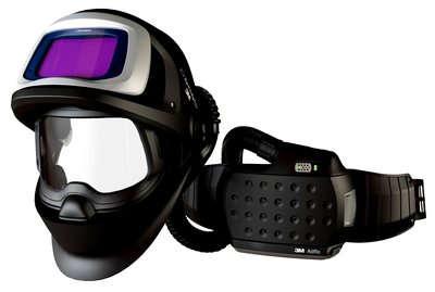 3M Speedglas 9100 FX Air Schweißmaske mit 9100XX ADF (Filter) und AdFlo Gebläseatemschutz