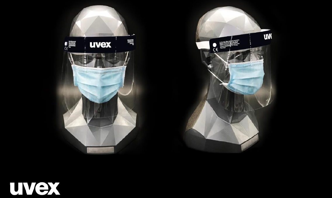 Uvex Gesichtsschild/ Medical shield 9710514