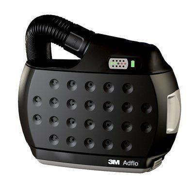 Adflo Filtergebläse mit Luftschlauch QRS, Adapter (53 35 06), Luftmengenmesser, Vorfilter, Funkensperre, Partikelfilter und Akku ohne Ladegerät und ohne Gürtel