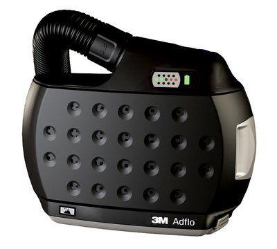 Adflo High Altitude Filtergebläse mit Luftschlauch QRS, Adapter (53 35 06), Luftmengenmesser, Vorfilter, Funkensperre, Partikelfilter und Akku, ohne Ladegerät und ohne Gürtel