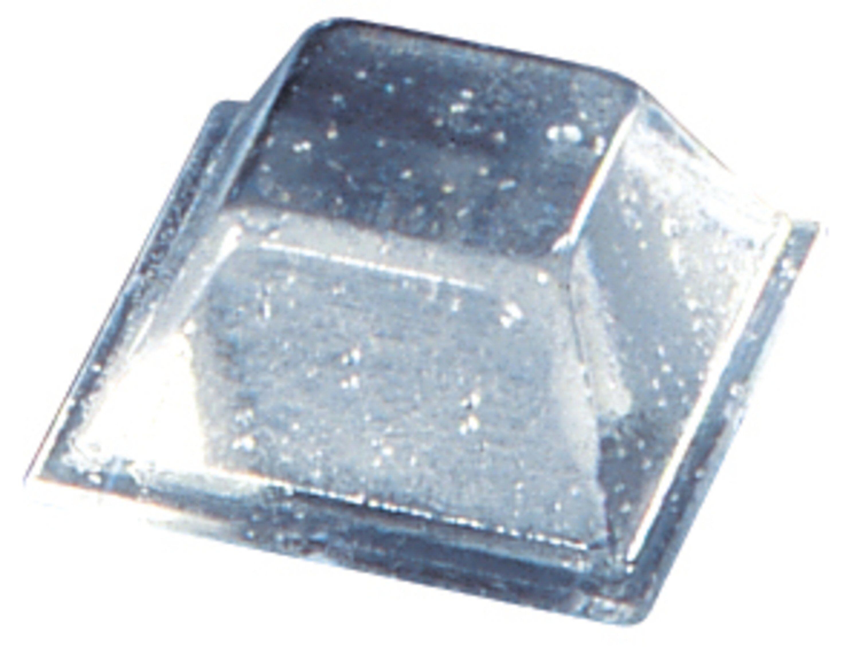 3M Bumpon SJ5318 Elastikpuffer, Transparent, 12,7 x 5,8 mm, Klebstoff Acrylat A-20, (3.000 Stück)