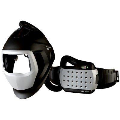3M Speedglas Schweißmaske 9100 Air ohne ADF, mit Adflo Gebläseatemschutz, inkl. Aufbewahrungstasche