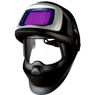 3M Speedglas Schweißmaske 9100 FX mit Seitenfenster und 9100XXi ADF, mit Kopfschutz