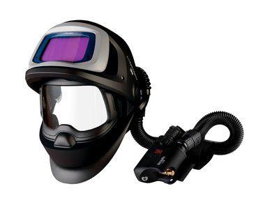 3M Speedglas Schweißmaske 9100 FX Air mit 9100XX ADF, mit Versaflo V-500E Druckluftatemschutz, inkl. Aufbewahrungstasche