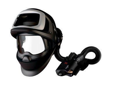 3M Speedglas Schweißmaske 9100 FX Air ohne ADF, mit Versaflo V-500E Druckluftatemschutz, inkl. Aufbewahrungstasche