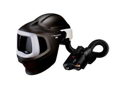 3M Speedglas Schweißmaske 9100 MP, ohne ADF, mit Versaflo V-500E Druckluftatemschutz, inkl. Tasche