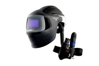 3M Speedglas Schweißmaske 9100 MP, mit 9100X ADF, mit Versaflo V-500E Druckluftatemschutz, inkl. Tasche
