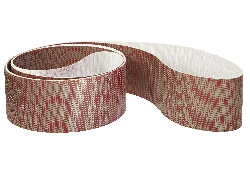 3M™ Flexibles Diamantschleifband 6465J, rot, 100,0 mm x 1830 mm, N74